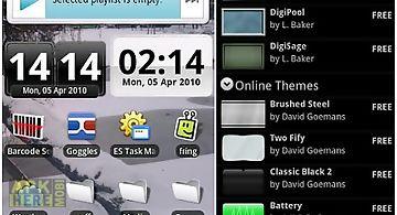 Digiclock widget
