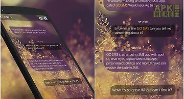 Go sms good mood theme