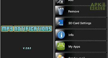 Mp3 notifications