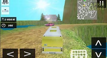 Real bus simulator off-road 3d