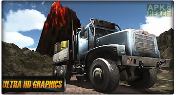 Real truck driving 3d