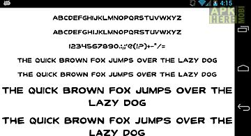 Fonts for flipfont 50 clean