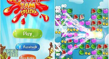 Fruit jam splash: candy match
