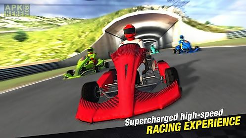 go karts - extreme racing game
