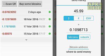 Simple bitcoin wallet