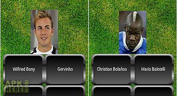 Football quiz star