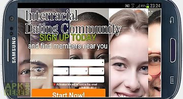 Interracial dating community