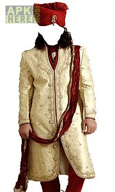 man wedding suit photo