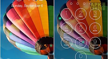 Lock screen os9 - phone 6