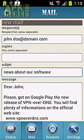Vpn over dns for Android free download at Apk Here store