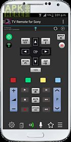 tv remote for sony