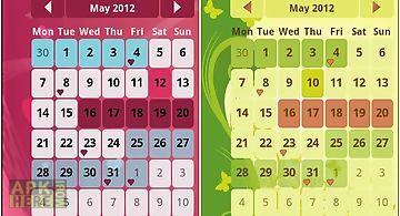 Woman calendar lite. menstrual