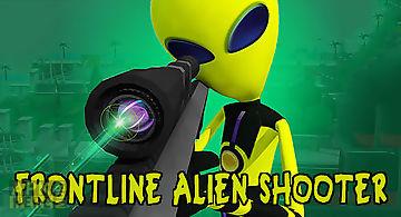 Frontline alien shooter