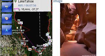Tracky gps navigation+ compass