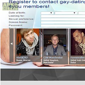 gay dating for single men