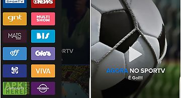 Globosat play: programas de tv