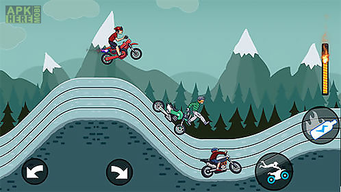 mad motor: motocross racing. dirt bike racing