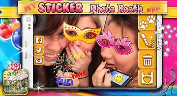 My sticker photo booth app