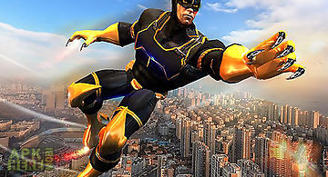 Super panther flying hero city s..