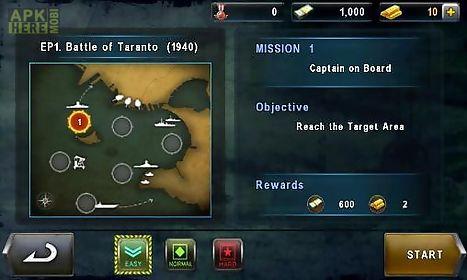 warship battle: 3d world war 2