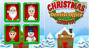 Christmas dentist office santa