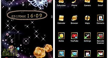 Cute theme-jewel galaxy-