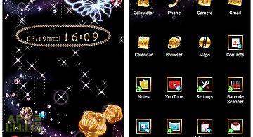 Cute theme-jewel galaxy-