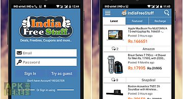 Indiafreestuff deals coupons