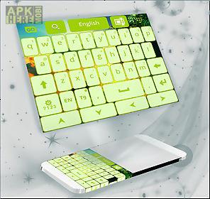 keyboard lime green