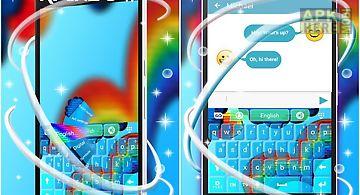 Keyboard rainbow