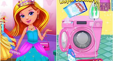 Princess castle cleanup