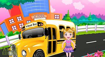 Schoolyard baby care