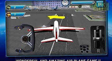 Airport plane parking