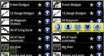 Cool gun ringtones