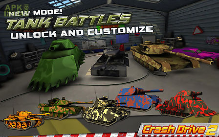crash drive 2: stunt car race