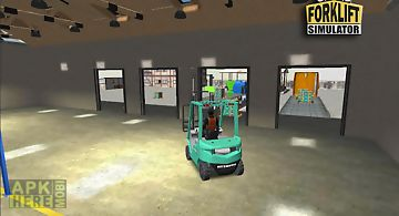 Grand forklift simulator
