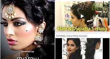 Indian hair styler app women