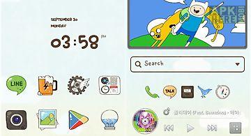 Cartoonplay line launchertheme