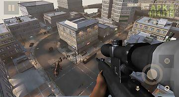 City sniper shooting 3d