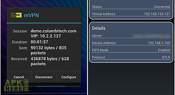 Columbitech mobile vpn client