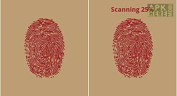 Finger scanner - past life