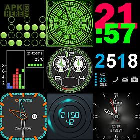 27 watch faces for wear & sony