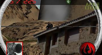 Army sniper: mountain strike
