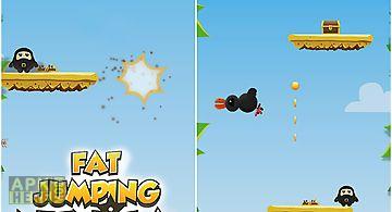 Fat jumping ninja