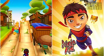 Ninja kid run free - fun games