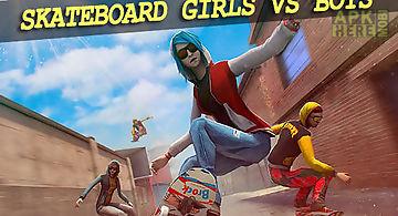 Skateboard: girls vs boys