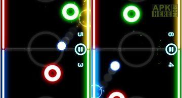 Glow hockey source