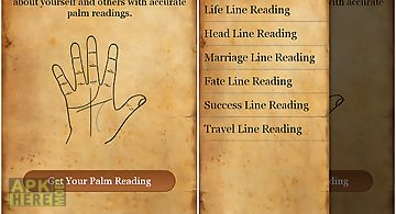 Palm reading - fortune teller