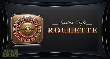 Roulette - casino style!