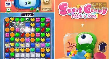 Sweet gummy match 3 game